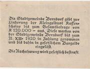 30 Heller (Berndorf) -  reverse