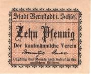 10 Pfennig (Kaufmännischer Verein) – obverse