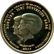 1 Dollar - Willem-Alexander & Beatrix – obverse