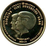 1 Dollar - Willem-Alexander & Beatrix -  obverse