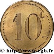 10 Centimes - Syndicat des Limonadiers - Béziers [34] – reverse