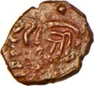 1 Trambiyo - Shah Jahan III [Bhavsinhji I Ratanji] – obverse