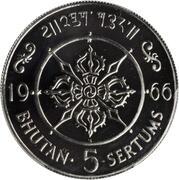 5 Sertums - Jigme Dorji (Ascension) – reverse