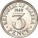 3 Pence – reverse