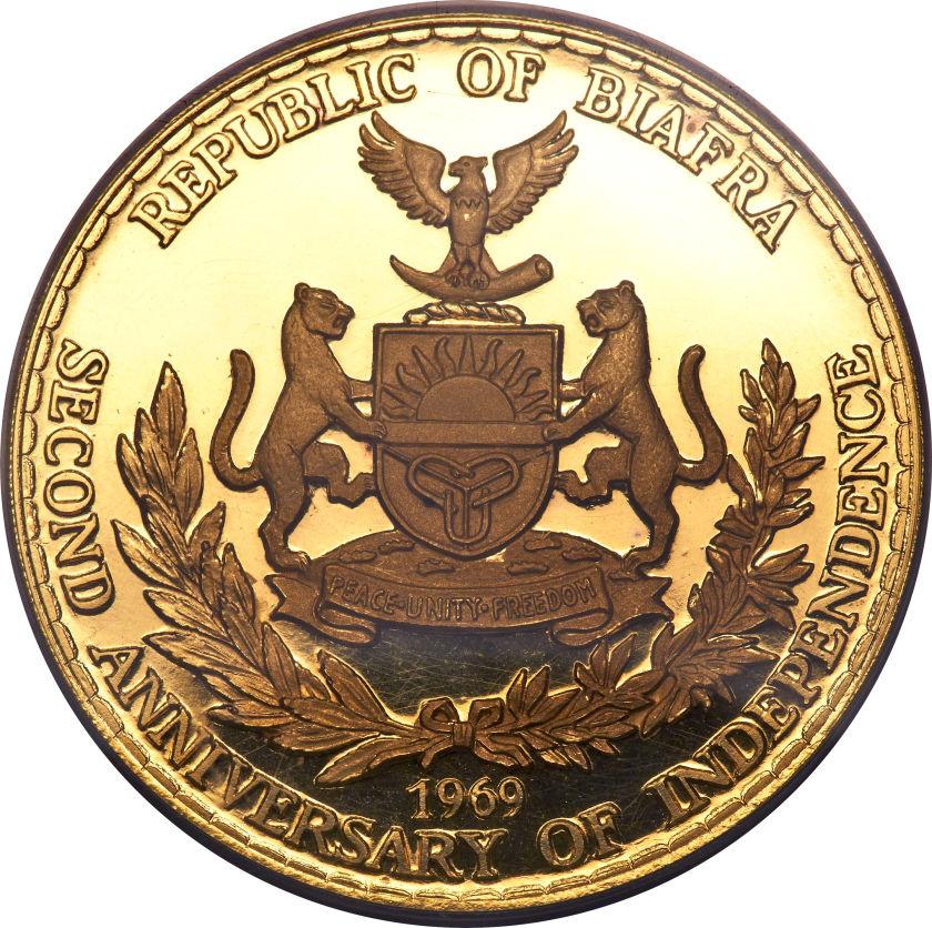 25 Pounds - Biafra – Numista