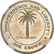 1 Crown (Chukwuemeka Odumegwu Ojukwu) – reverse