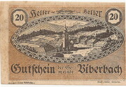 20 Heller (Biberbach) -  obverse