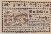 50 Heller (Biberbach) -  obverse