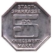 5 Pfennig - Bielefeld (Stadtsparkasse) – reverse