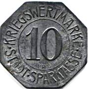 10 Pfennig - Bielefeld (Stadtsparkasse) – reverse