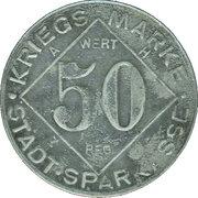50 Pfennig - Bielefeld (Stadtsparkasse) – reverse