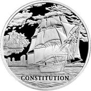 1 Rouble (Constitution) -  reverse