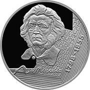 10 Roubles (Adam Mickiewicz) – reverse