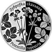 1 Rouble (Potentilla Rupestris) – reverse