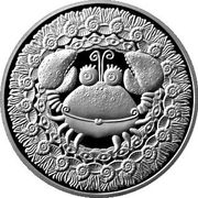 1 Rouble (Cancer) – reverse