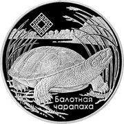 1 Rouble (Middle Reaches of the Prypyat River) – reverse