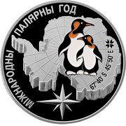 20 Rouble (International Polar Year) -  reverse