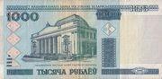 1000 Rublei -  obverse