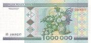 1 000 000 Rublei – reverse