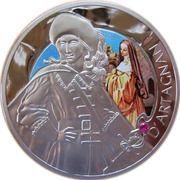 20 Roubles (D'Artagnan) -  reverse