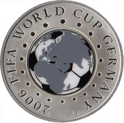 20 Roubles (2006 FIFA World Cup) -  reverse