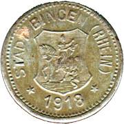 10 Pfennig - Bingen am Rhein – obverse
