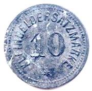 10 Pfennig - Bingen am Rhein – reverse