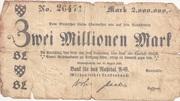 2,000,000 Mark (Birkenfelder Landesbank) – obverse