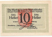 10 Heller (Bischofshofen) – reverse