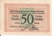 50 Heller (Bischofshofen) – reverse