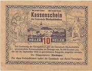 10 Heller (Bischofstetten) -  obverse