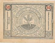 50 Heller (Bischofstetten) -  reverse