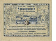 80 Heller (Bischofstetten) -  obverse