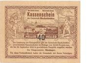 40 Heller (Bischofstetten) -  obverse