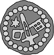 1 Hohlpfennig - Anonymous (Sword right; key left and down; star left; diamond ring) – obverse