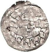 1 Pfennig - Johannes IV Duesborg (Sword left; key right) – obverse
