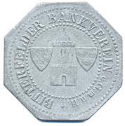 50 Pfennig - Bitterfeld (Bankverein G.m.b.H) – obverse