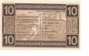 10 Pfennig – reverse