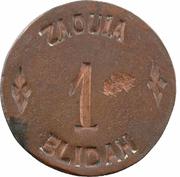 1 Franc (Zaouïa de Blida) – obverse