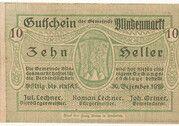 10 Heller (Blindenmarkt) – obverse