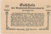 20 Heller (Blindenmarkt) -  reverse