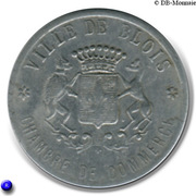 20 Centimes (Blois) – obverse