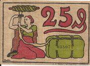 25 Pfennig -  reverse