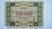 100,000 Mark (Deutsch-Luxemburgische Bergwerks- und Hütten-AG) – obverse