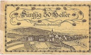 50 Heller (Bodendorf) -  obverse