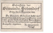 10 Heller (Bodendorf) -  reverse