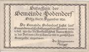50 Heller (Bodendorf) -  reverse