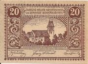 20 Heller (Böheimkirchen) – obverse