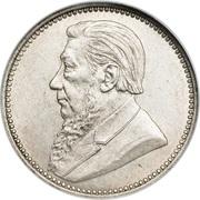 6 Pence (Zuid Afrikaansche Republiek) -  obverse