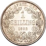 1 Shilling (Zuid Afrikaansche Republiek) – reverse